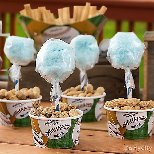 Cotton Candy and Peanuts Idea