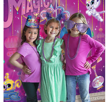 Shimmer and Shine Photo Booth Activity Idea