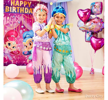 shimmer and shine party ideas girls birthday party ideas