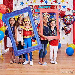 DC Super Hero Girls Photo Booth Activity Idea