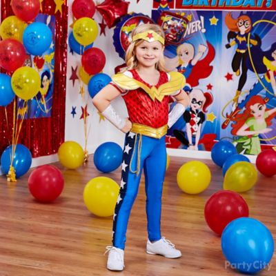 DC Super Hero Girls Birthday Costume Idea