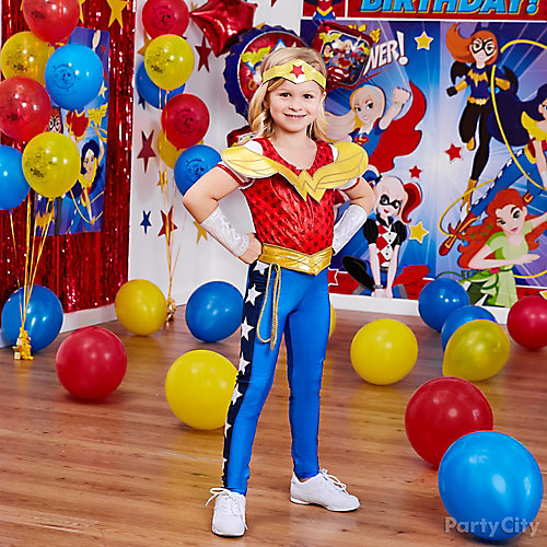 DC Super Hero Girls Birthday Costume Idea