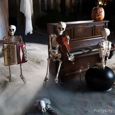 Skeleton Band Idea