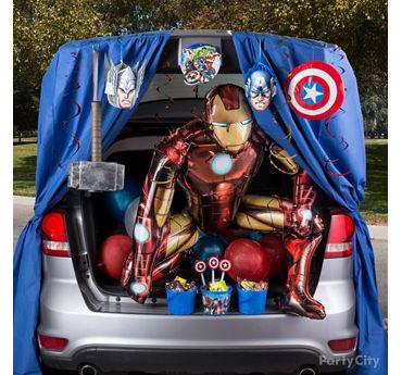 Avengers Trunk or Treat Idea