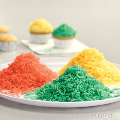 Coloring Your Toppings Idea