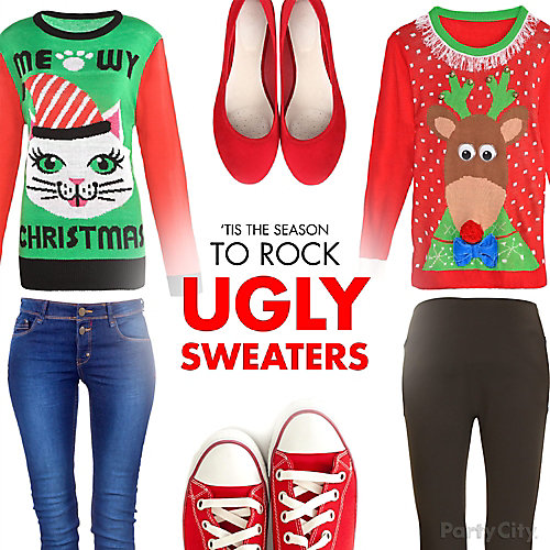 Rock Your Ugly Sweater Idea