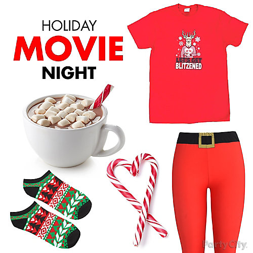 Christmas Movie Night Outfit Idea