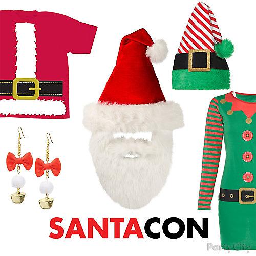 Santa Con Style Outfit Idea