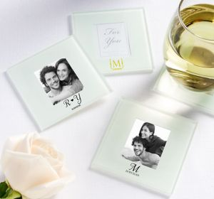 Personalized Photo Glass Coasters <br>(Printed Glass)</br>