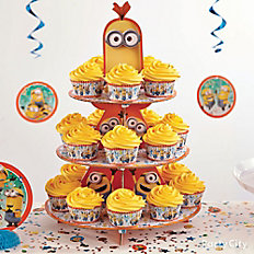 Despicable Me Cupcake Tower