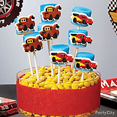 Cars Marshmallow Pops