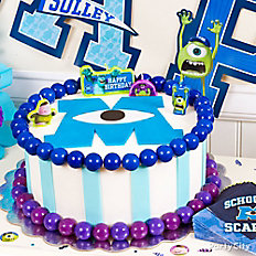 Monsters University Fondant Cake