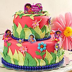 Dora Fondant Cake