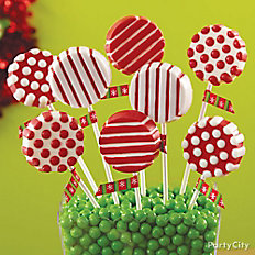 Christmas Cookie Candy Pops
