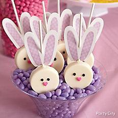 Bunny Cookie Pops