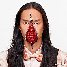 Zipper Face Makeup How To