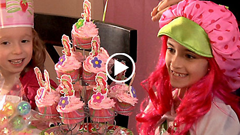 Strawberry Shortcake Party Ideas Video