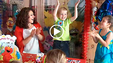 Elmo Party Ideas Video