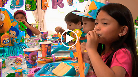 Bubble Guppies Party Ideas Video