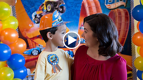 Hot Wheels Party Ideas Video