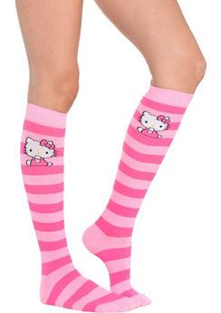 Hello Kitty Knee-High Socks