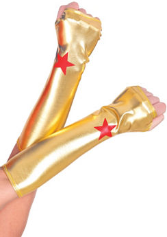 Wonder Woman Arm Warmers
