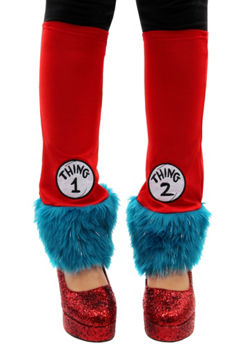 Thing 1 & Thing 2 Leg Warmers - Dr. Seuss