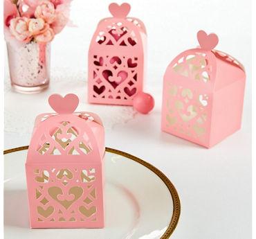 Pink Lantern Favor Boxes