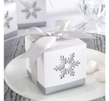 Snowflake Favor Boxes