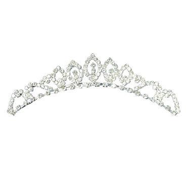 Rhinestone Wedding Tiara Comb