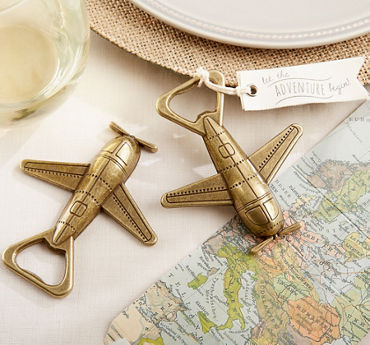 Bronze Vintage Airplane Bottle Opener