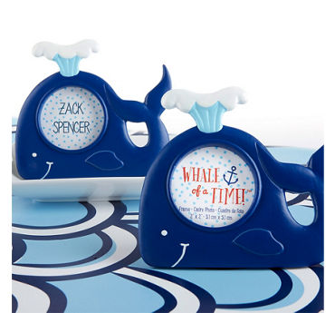 Whale Photo Frame Place Card Holder