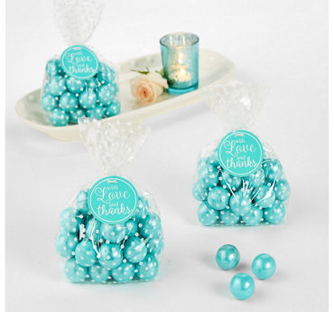 Robin's Egg Blue Thank You Tags 25ct