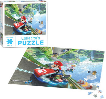 Mario Kart Collector's Puzzle 550pc