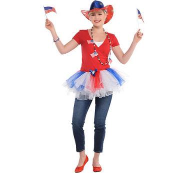 Womens Patriotic Super Accessory Kit