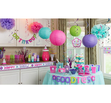 Pastel Birthday Party Supplies