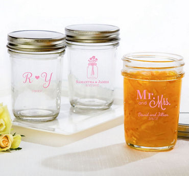Personalized Mason Jars (Printed Glass)