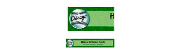 Chicago White Sox Custom Banner 6ft