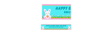 Easter Friends Custom Easter Banner 6ft