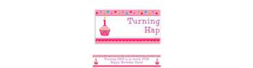 Sweet Little Cupcake Girl Custom Banner 6ft