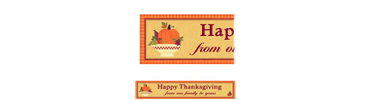 Autumn In The Country Custom Banner 6ft
