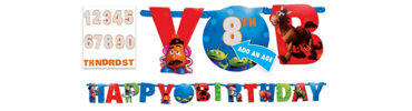 Add an Age Toy Story 3 Letter Banner 10ft