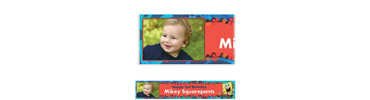 Sponge Bob Simply Custom Photo Banner 6ft