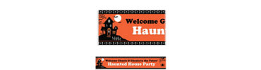 Frightfully Fancy Custom Banner 6ft