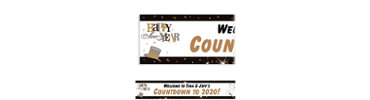 Elegant Celebration Custom Banner 6ft