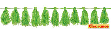 Kiwi Green Tassel Garland