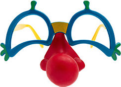 Clown Nose with Glasses