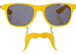 Yellow Handlebar Sun-Staches