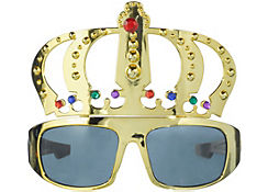 King Gold Crown Sunglasses