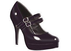 Black Mary Jane Platform Shoes